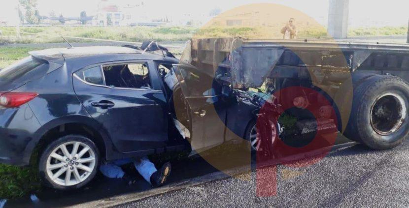ACCIDENTE EN LAS TORRES, EN METEPEC, DEJA UN MUERTO