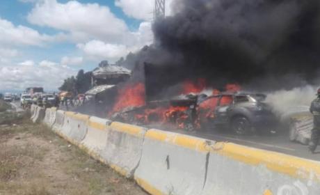 CHOCA AUTOBÚS DE PASAJEROS EN LA PUEBLA-ORIZABA DEJA COMO SALDO UN MUERTO Y VARIOS HERIDOS