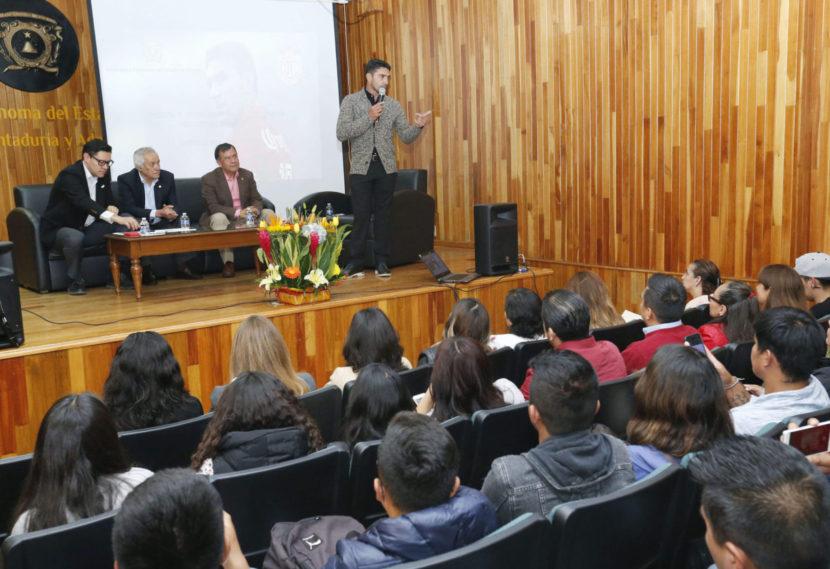 """RECONOCIÓ CONTADURÍA Y ADMINISTRACIÓN DE UAEM TRAYECTORIA Y ALTRUISMO DE  """"SINHA"""""""