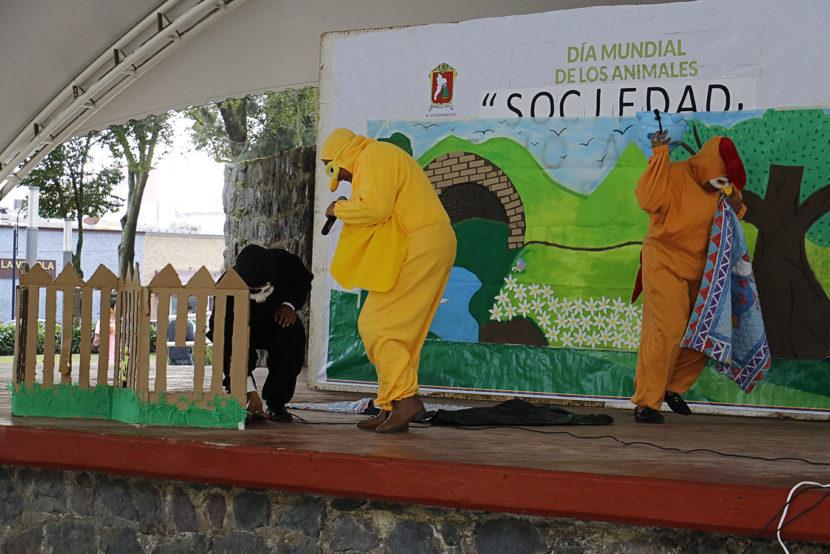 SE REALIZA CON ÉXITO «SOCIEDAD, MEDIO AMBIENTE Y BIENESTAR ANIMAL»  EN LA ALAMEDA TOLUCA
