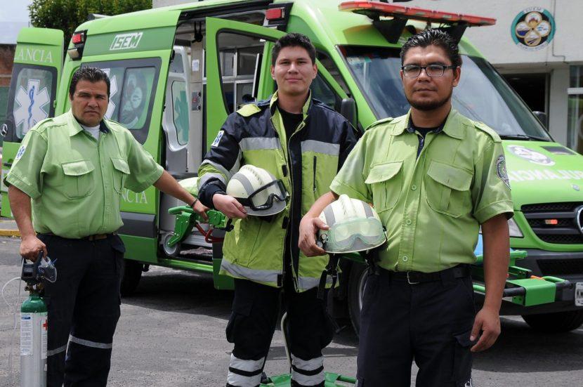 CUMPLE SUEM 42 AÑOS DE ATENDER EMERGENCIAS DE LOS MEXIQUENSES