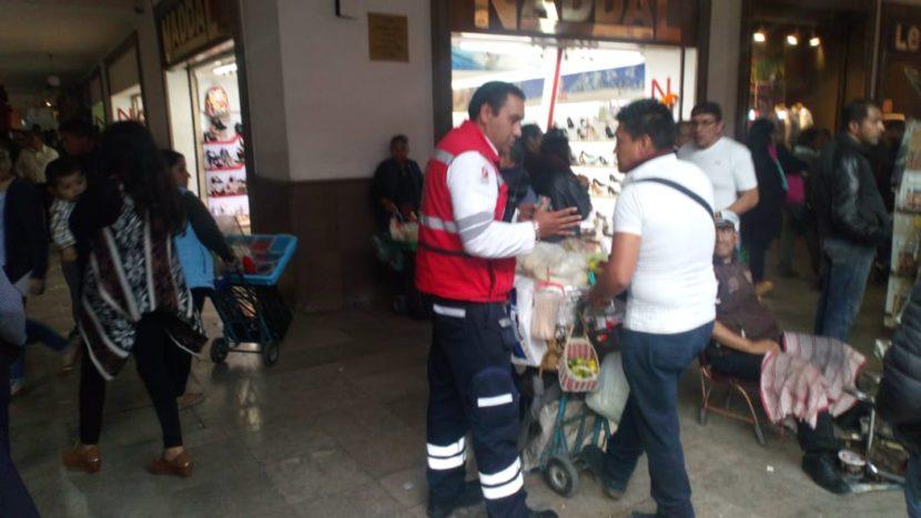 FERIA DEL ALFEÑIQUE CUENTA CON 28 SALIDAS DE EMERGENCIA EN LOS PORTALES