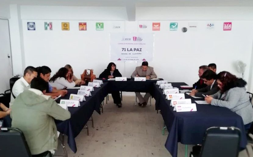 CONTINÚAN SESIONES DE  CONSEJOS MUNICIPALES ELECTORALES