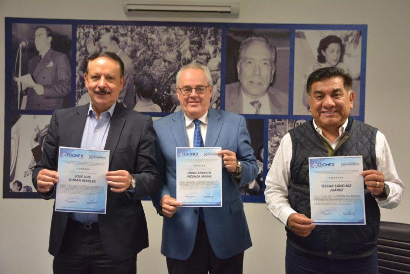 CEO APRUEBA A INZUNZA, DURÁN Y SÁNCHEZ PARA COMPETIR POR LA DIRIGENCIA DEL PAN EDOMÉX