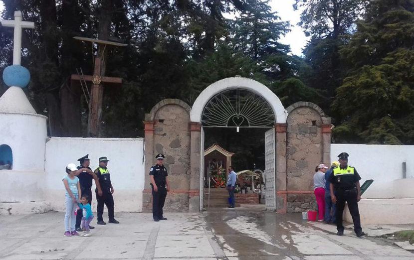 POLICÍAS VIGILARÁN 41 PANTEONES DE LA CAPITAL, ESPECIALMENTE EL MUNICIPAL Y LA SOLEDAD