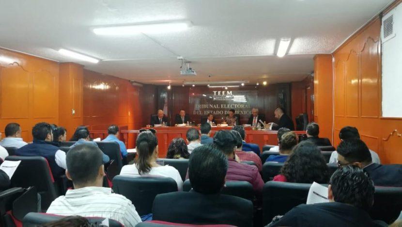 EL TRIBUNAL ELECTORAL DEL EDOMEX DIÓ RESOLUCIÓN DE 47 IMPUGNACIONES