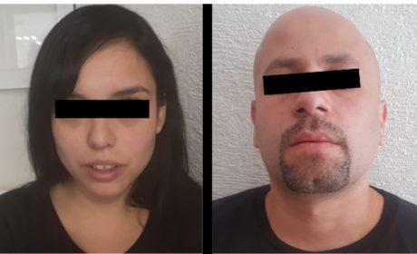 SECRETARÍA DE SEGURIDAD APREHENDE A DOS PROBABLES NARCOMENUDISTAS