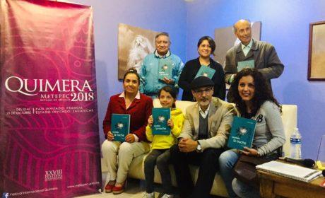 PRESENTE EDITORIAL EDOMÉX EN LA FERIA INTERNACIONAL DE ARTE Y CULTURA QUIMERA 2018