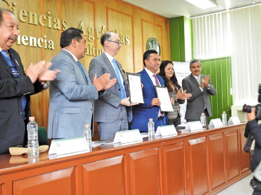 SEDAGRO Y LA UAEMEX FIRMAN CONVENIO  PARA IMPULSAR DESARROLLO DEL CAMPO MEXIQUENSE