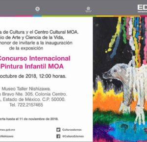 ALBERGA MUSEO LUIS NISHIZAWA OBRAS DEL CONCURSO INTERNACIONAL DE PINTURA MOA