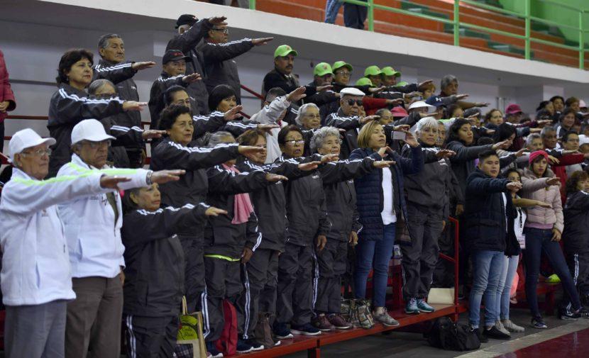 PARTICIPAN MÁS DE MIL 200 ADULTOS MAYORES EN XV OLIMPIADAS ESTATALES DEPORTIVAS Y CULTURALES