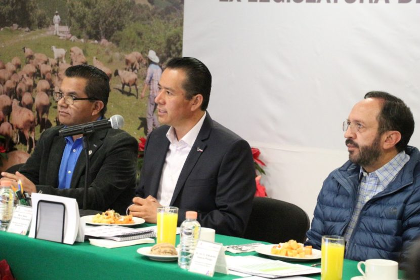 COINCIDEN FUNCIONARIOS DE SEDAGRO Y LEGISLADORES EN TRABAJAR A FAVOR DE LOS MEXIQUENSES