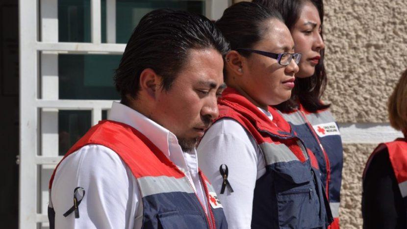 CRUZ ROJA MEXICANA CONDENA LAS AGRESIONES CONTRA SU VOLUNTARIADO