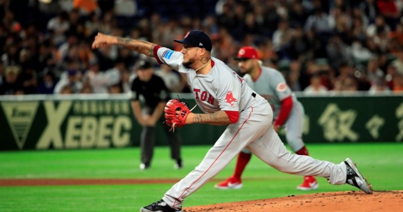 HÉCTOR VELÁZQUEZ COMANDA EL TRIUNFO DE EQUIPO  MLB All STARS EN JAPÓN