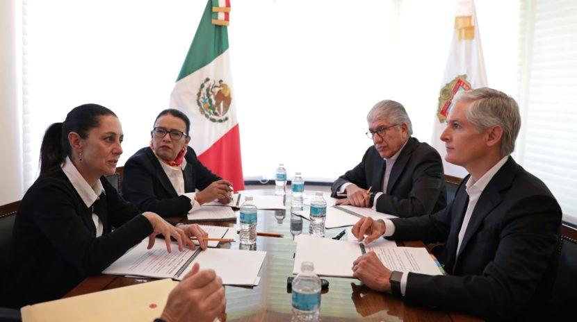 INICIAN ESTADO DE MÉXICO Y CIUDAD DE MÉXICO UN NUEVO PROCESO DE COORDINACIÓN