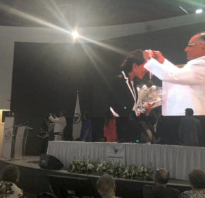 LA COMNAPAZ ENTREGA A DENISSE UGALDE ALEGRÍA EL PREMIO POR LA PAZ MÉXICO