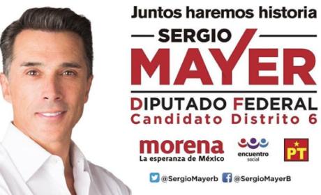 """SERGIO MAYER: """"TODOS SE HACEN PEND…."""" A SUS COLABORADORES (VIDEO)"""