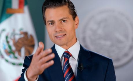"""ENRIQUE PEÑA NIETO EN SU MENSAJE DE DESPEDIDA """"EL AMOR POR MÉXICO ES PERMANENTE"""""""
