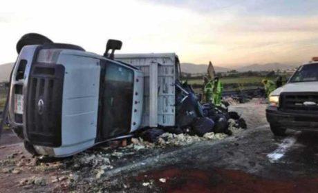 CIERRAN TRAMO DE CIRCUITO MEXIQUENSE POR APARATOSO ACCIDENTE