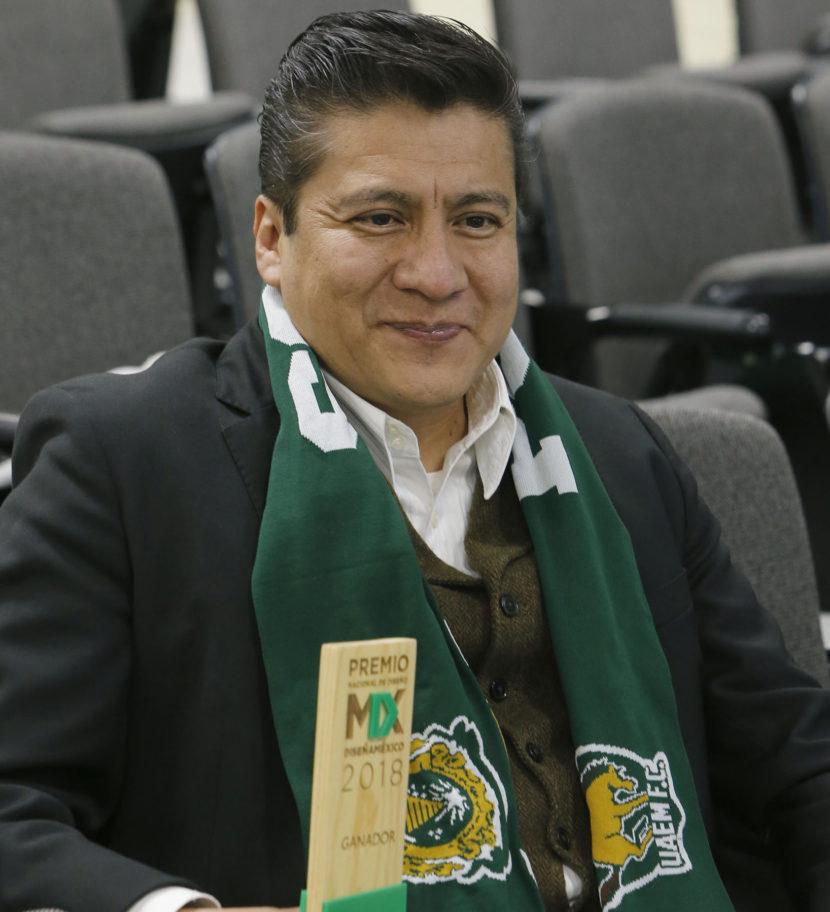 ACADÉMICOS UAEM FUERON RECONOCIDOS CON EL PREMIO NACIONAL DE DISEÑO