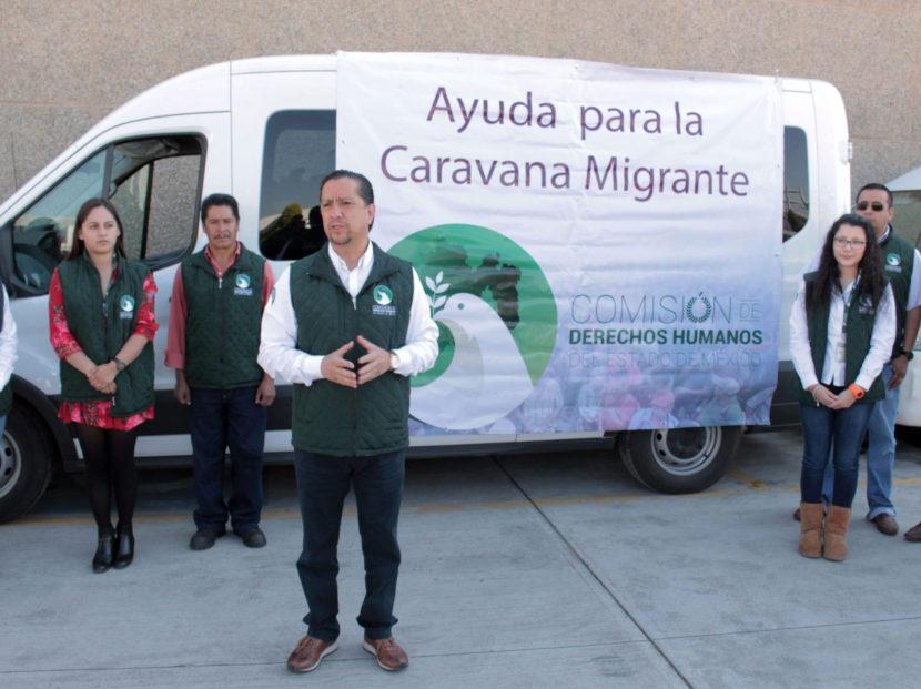 """DA JOG BANDERAZO DE SALIDA A LA AYUDA HUMANITARIA PARA """"CARAVANA MIGRANTE"""""""