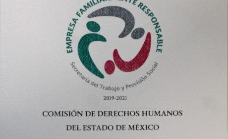 RECIBIÓ CODHEM DISTINTIVO DE LA STYPS COMO EMPRESA FAMILIARMENTE RESPONSABLE