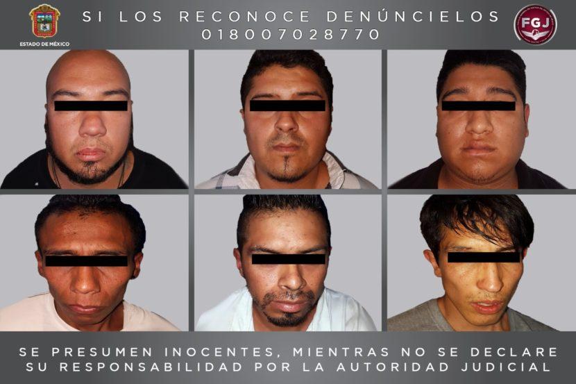 DETIENE FISCALÍA A SEIS SUJETOS INVESTIGADOS POR  ROBO DE VEHÍCULO CON VIOLENCIA
