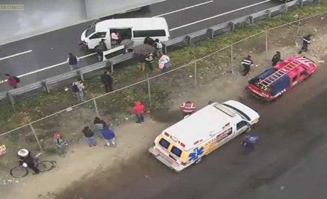 NEBLINA OCASIONA ACCIDENTE EN LA AUTOPISTA MÉXICO-PUEBLA