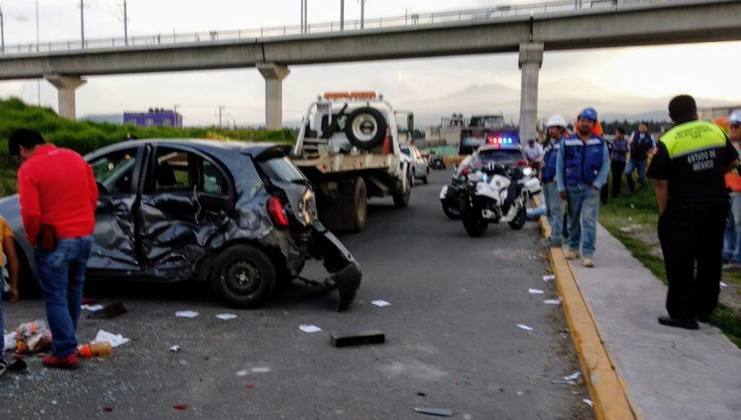 APARATOSO ACCIDENTE EN LAS TORRES Y TORRES CHICAS DEJA 5 LESIONADOS