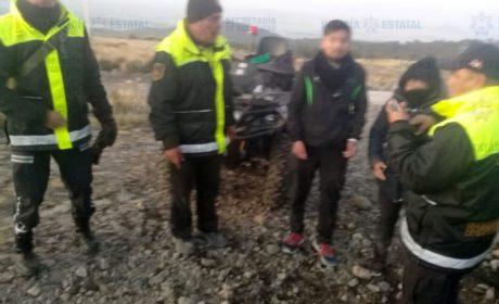 RESCATA POLICÍA DE ALTA MONTAÑA A DOS PERSONAS EXTRAVIADAS EN EL NEVADO DE TOLUCA