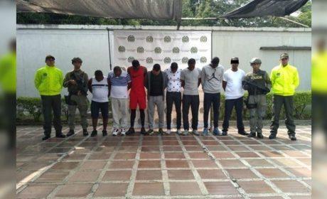CAPTURAN A 9 MIEMBROS CONEXOS AL «EL MAYO ZAMBADA' EN COLOMBIA