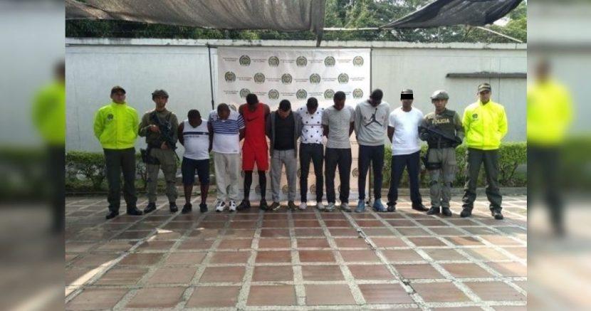 """CAPTURAN A 9 MIEMBROS CONEXOS AL """"EL MAYO ZAMBADA' EN COLOMBIA"""