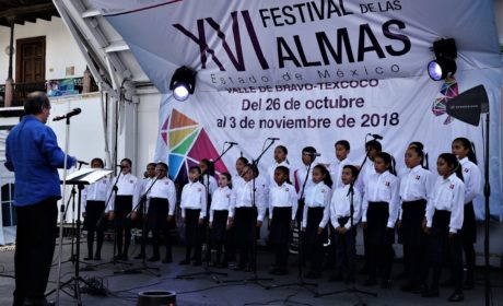 MUESTRAN VOCES INFANTILES SU TALENTO EN EL FESTIVAL DE LAS ALMAS