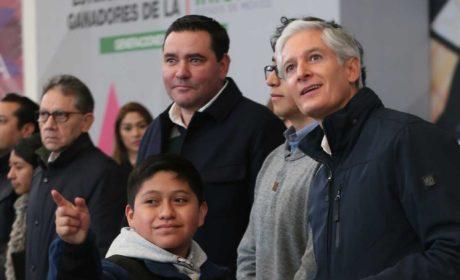 GANADORES DE LA OLIMPIADA INFANTIL SERÁN BECADOS HASTA CONCLUIR ESTUDIOS: ALFREDO DEL MAZO