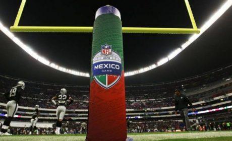 EL ESTADO DE LA CANCHA DEL ESTADIO AZTECA PREOCUPA A LA NFL