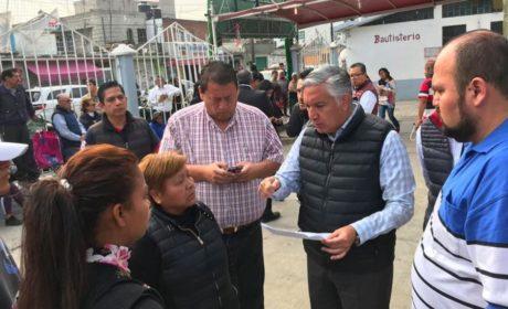 AUTORIDADES DE CDMX Y EDOMÉX EVALÚAN DAÑOS EN SAN JUANICO