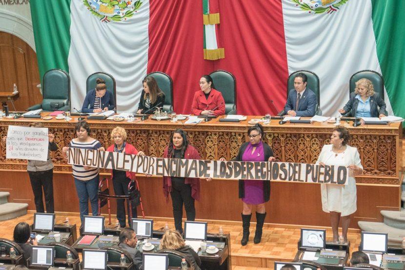 ABROGA LA LEGISLATURA MEXIQUENSE  LEY DEL ISSEMYM 2018