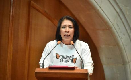 EXHORTA LA LEGISLATURA A PROTEGER EL HÁBITAT DE LA MARIPOSA MONARCA