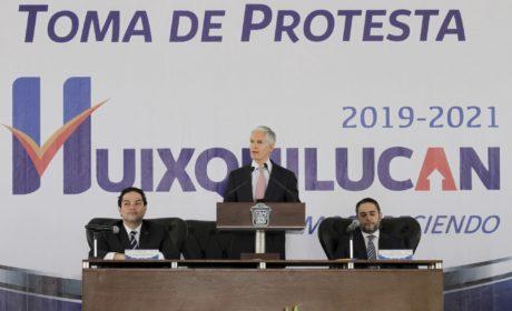 GOBIERNO DEL EDOMÉX TRABAJA SIN DISTINCIONES CON  AYUNTAMIENTOS Y CON LA PRESIDENCIA DEL PAÍS: ALFREDO DEL MAZO