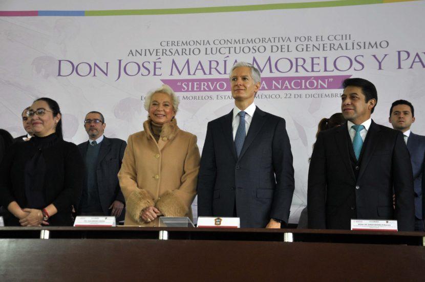 COMPROMISO DEL EDOMÉX CON LA FEDERACIÓN PARA CONTRIBUIR EN EL PROYECTO DE DESARROLLO DEL PAÍS