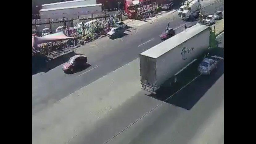 CAPTAN CÁMARAS IMPACTANTE ACCIDENTE EN ECATEPEC