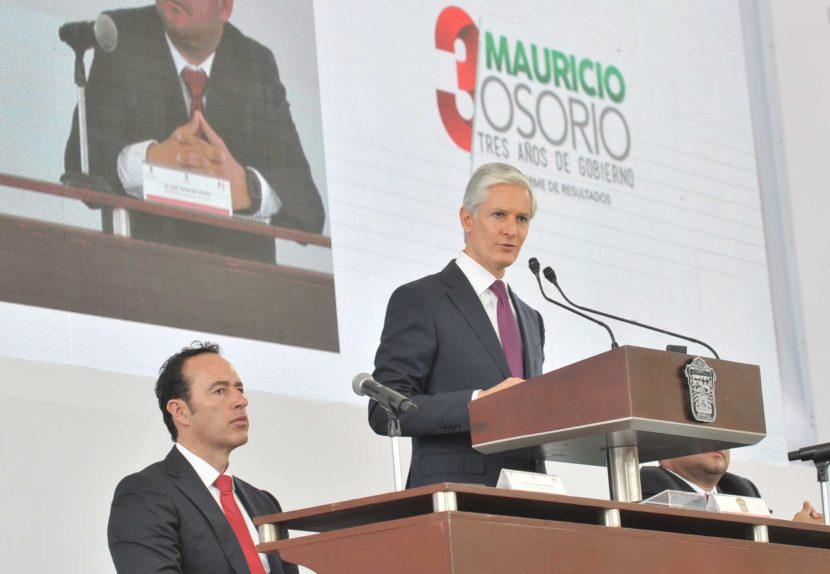 ENVIARÁ ALFREDO DEL MAZO PROPUESTA DE PRESUPUESTO 2019, A LOS CONGRESOS MEXIQUENSE Y FEDERAL