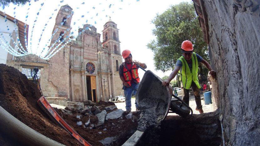 RESTAURAN TEMPLOS RELIGIOSOS EN VALLE DE BRAVO Y VILLA DEL CARBÓN