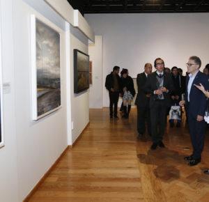 ALFREDO BARRERA INAUGURÓ LA EXPOSICIÓN