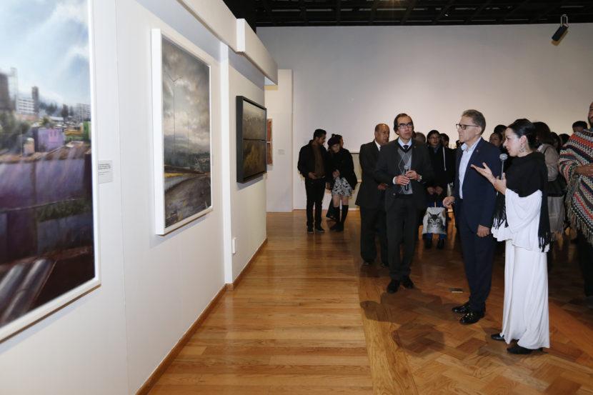 ALFREDO BARRERA INAUGURÓ LA EXPOSICIÓN «TÉMPERA»