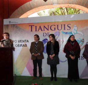INVITAN A MEXIQUENSES A ADQUIRIR PRODUCTOS EN EL TIANGUIS DE ARTE 2018
