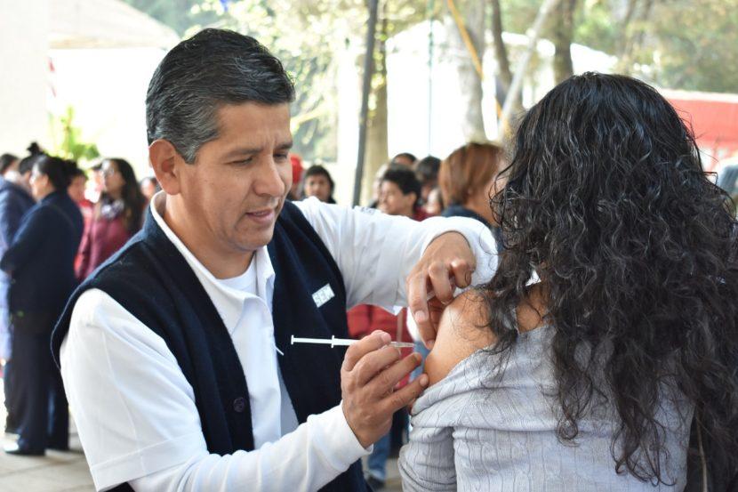 APLICAN MÁS DE 2 MILLONES DE VACUNAS CONTRA LA INFLUENZA EN EDOMÉX