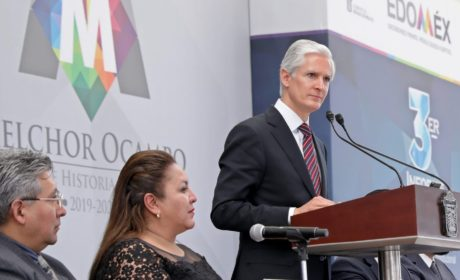 EDOMÉX TRABAJARÁ SIN DISTINCIONES POLÍTICAS: ALFREDO DEL MAZO