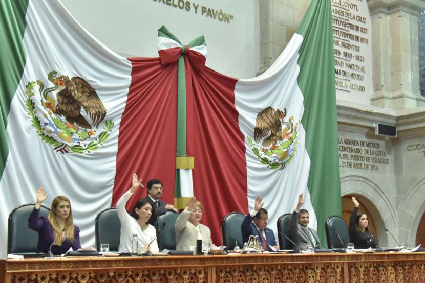 EXHORTA LA LEGISLATURA A LA FGJEM A DESISTIR DE ACCIÓN PENAL EN CONTRA  DE SEIS DEFENSORES DEL AGUA DE SAN PEDRO TLÁNIXCO