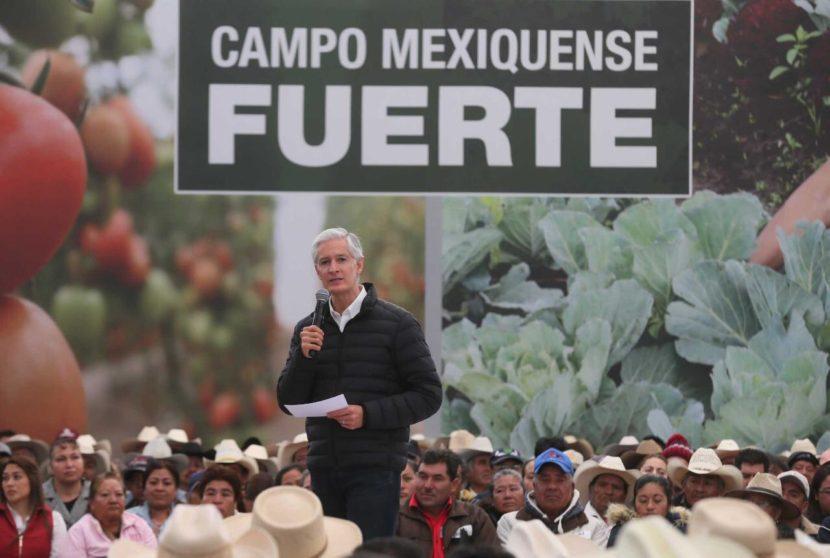 INFORMA ALFREDO DEL MAZO INVERSIÓN HISTÓRICA PARA EL CAMPO MEXIQUENSE: MÁS DE 2 MIL 455 MILLONES DE PESOS
